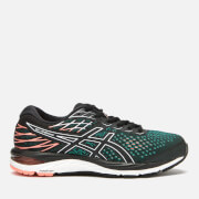 Asics Women's Running Gel-Cumulus 21 Trainers - Black/Sun Coral