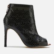 Ted Baker Women's Hauula Open Toe Shoe Boots - Black