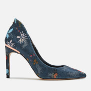 Ted Baker Women's Saviop Printed Court Shoes - Black