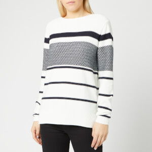 Barbour Women's Paddle Knit Jumper - Off White