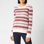 Barbour Women's Peak Knit Jumper - Off White