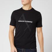 Armani Exchange Men's Ax Large Logo T-Shirt - Black
