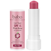 Babo Botanicals SPF15 Tinted Lip Conditioner - Plum Rose 0.15oz