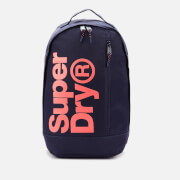 Superdry Women's Freshman Academy Backpack - Navy/Coral
