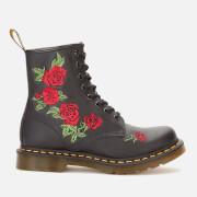 Dr. Martens Women's 1460 Vonda Softy T Leather 8-Eye Boots - Black