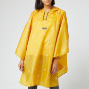 Joules Women's Dog Print Poncho - Gold