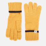 Joules Women's Snowday Gloves - Gold