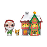 Pop! Holiday Santa's House Santa & Nutmeg Funko Pop! Town