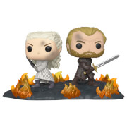 Game of Thrones - Daenerys e Jorah con Spade Figura Pop! Movie Moment