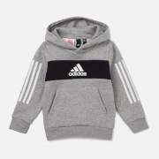 adidas Boys' Young Boys Pull Over Hoody - Grey