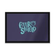 BeerShield Logo Entrance Mat