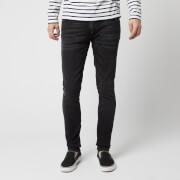 Nudie Jeans Men's Skinny Lin Skinny Jeans - Worn Black