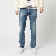 Nudie Jeans Men's Grim Tim Slim Jeans - Worn in Broken