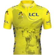 Le Coq Sportif TDF 2019 Replica Col Jersey - Yellow
