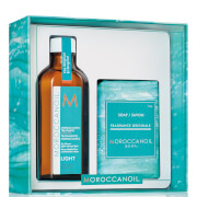 Moroccanoil Simply Beautiful Gift Set - Treatment Light (Worth £45.45)