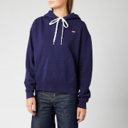 Levi's Women's 'Unbasic' Hoodie - Sea Captain Blue Wash Sea Captain