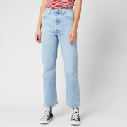 Levi's Women's Ribcage Straight Ankle Jeans - Tango Light