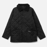 Barbour Boys' Liddesdale Quilted Jacket - Black