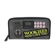 Loungefly Star Wars Rebel Wookie Patch Wallet
