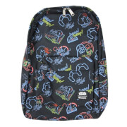 Loungefly Star Wars Neon Print Nylon Backpack