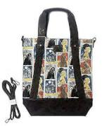 Loungefly Star Wars Cards Princess Leia Chewbacca Crossbody Tote Bag