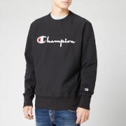 Champion Men's Big Script Sweatshirt - Black