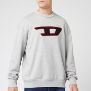Diesel Men's Division Sweatshirt - Grey