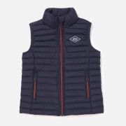 Joules Boys' Crofton Packaway Gilet - Red