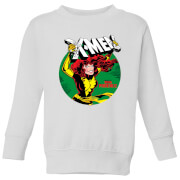 X-Men Defeated By Dark Phoenix Kids' Sweatshirt - White