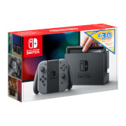 Nintendo Switch with Grey Joy-Con Controllers + £30 eShop Credit