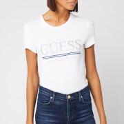 Guess Women's Logo T-Shirt - True White