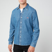Levi's Men's Battery Housemark Denim Shirt - Redcast Stone