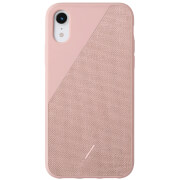 Native Union Clic Canvas iPhone XR Case - Rose