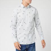 Ted Baker Men's Richrd Floral Geo Print Shirt - White