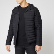 The North Face Men's Stretch Down Hooded Jacket - TNF Black
