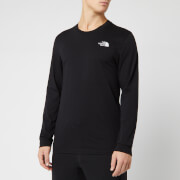 The North Face Men's Long Sleeve Simple Dome T-Shirt - TNF Black