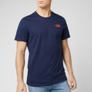 The North Face Men's Simple Dome Short Sleeve T-Shirt - Montague Blue