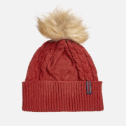 Superdry Women's Lannah Cable Beanie - Furnace Red