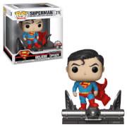DC Superman on Gargoyle EXC Pop! Vinyl Deluxe (VIP ONLY)