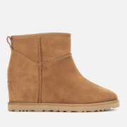 UGG Women's Classic Femme Mini Wedge Boots - Chestnut