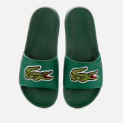 Lacoste Men's Croco Slide Sandals - Green