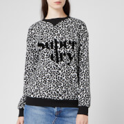 Superdry Women's Sport Scandi Graphic Top - Grey Leopard