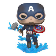 Marvel Avengers: Endgame Captain America with Broken Shield Pop! Vinyl Figure