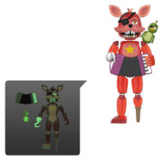 Five Nights at Freddy's Pizza Simulator Rockstar Foxy Action Figure