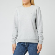 Tommy Hilfiger Women's Heritage Crew Neck Sweatshirt - Light Grey Heather