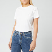 Tommy Hilfiger Women's Heritage Crew Neck T-Shirt - Classic White