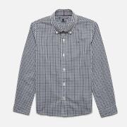 Tommy Kids Boys' Long Sleeve Gingham Shirt - Sky Captain