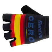 Santini La Vuelta 19 Kilometro Cero Gloves