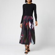 Ted Baker Women's Tamlin Sapphire Mockable Sweat Midi Dress - Black