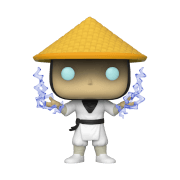Mortal Kombat Raiden with Fire EXC Funko Pop! Vinyl